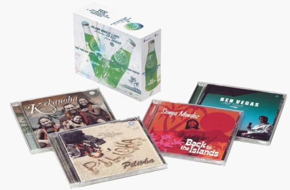 ISLAND BREEZE LABEL Selection CD BOX from HAWAII